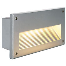 Intalite IP44 Bathroom Exterior BRICK DOWNUNDER E14 recessed light, silver, 40W