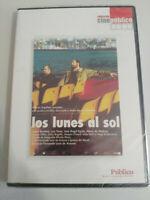 LOS LUNES AL SOL JAVIER BARDEM LUIS TOSAR FERNANDO LEON DE ARANOA DVD NUEVA