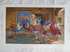 "JAMES CHRISTENSEN ""Getting It Right"" Limited Edition Art Print Signed 3780/ 4000"