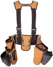 Carpenter Rig Tool Belt Bag Pouch Pocket Steel Hammer Loop Electrician Storage