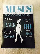 2014 Krewe Of Muses Parade Float Mardi Gras Poster