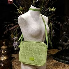 MICHAEL KORS Neoprene Lime Crossbody Tablet Ipad Case 32F2GELC3P