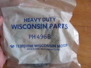NOS Wisconsin PH496B Rear Crankshaft Oil Seal V465 V460 V465D V4 Engines