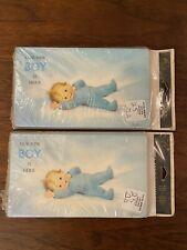 Very Vintage Gibson Baby Boy Birth Announcements, 2 packs