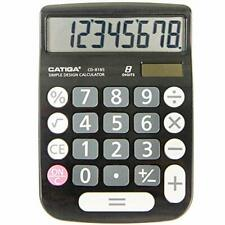 Catiga Cd-8185 Office and Home Style Basic Calculator - 8-Digit Lcd Display