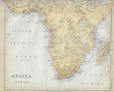 1878 Color Map of Africa