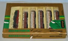 N Scale minitrix 1017 Orient Express Train Set 1 Loco & 5 Passenger Cars - LNIB