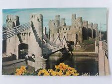 Postcard Castle Conwy Wales Postcard