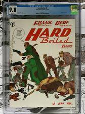 HARD BOILED #2   -   CGC 9.8  -  Dark Horse 1990  -  White pages  -  CGC 9.8!!