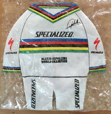MARIO CIPOLLINI mini jersey World Champion SPECIALIZED collectible FREE FREIGHT