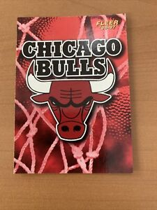 Carte NBA Chicago Bulls Fleer 1996/97