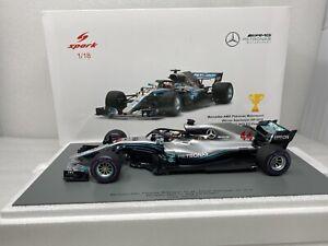 1/18 Spark 2018 Mercedes AMG F1 Winner Azerbajian GP Hamilton 18S343 Read Me