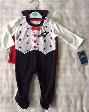 Baby Boys Halloween Classic Dracula/Vampire Babygrow Fancy Dress/Costume ~ 0-3m