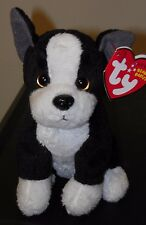 Ty TUX the Boston Terrier Dog Beanie Baby - NEW - MINT TAGS ~ RETIRED