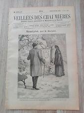 Journal illustré 1909  - Veillées des Chaumières - 06 Mars - Roselyne...