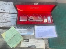 Vintage Minolta-16 MG Subminiature Spy Camera With Case & Papers!