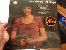 LIZA MINNELLI 1973 The Singer LP You're So Vain I Beleive In Music Use Me vinyl