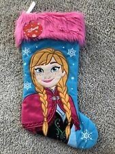 Disney Frozen Anna Christmas Stocking NWT