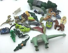 LEGO LOT OF ANIMAL PARTS & PIECES INCOMPLETE BEASTS SHARK DINOSAUR HORSE MORE
