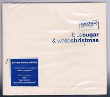 ZUCCHERO SUGAR FORACIARI BLUESUGAR & WHITE CHRISTMAS CD LIMITED FC SIGILLATO!!!