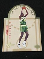 1993-94 Upper Deck SE West All Stars SHAWN KEMP DIE CUT, NM, SuperSonics LEGEND