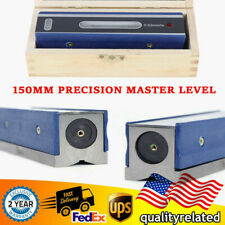 150mm 6 Inch Precision Master Level Bar Level 002mmm Accuracy Machinist Tool