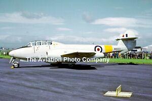 RAF Gloster Meteor T.7 WA669 (1972) Photograph