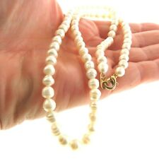 Fresh Water Baroque Pearl Necklace Strand  5 mm 18""