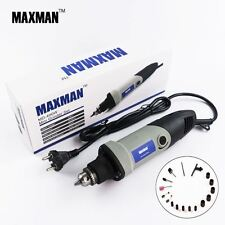 MAXMAN Professional Electric Mini Die Grinder 0.6~6.5mm Chuck Variable Speed Rot