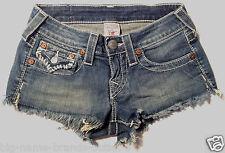 True Religion Shorts  'CUT OFF' EUC RRP $229 Womens Size 24