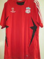 Champions League Liverpool Training Football Shirt Size Medium Adults /35019