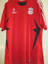 Liga de Campeones de Liverpool formación Camiseta de Fútbol Tamaño Mediano Para Adultos / 35019