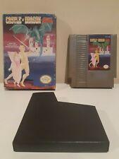 Castle of Dragon with Box NES Nintendo - Read Description