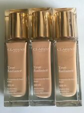 Clarins True Radiance Foundation SPF15 -30ML- Various Shades- Free Post-