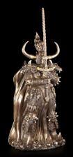 Schwarzer Ritter Figur - Derek W Frost Fantasy Mittelalter Kämpfer Deko Statue