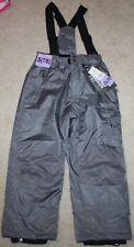 New! Boys Weatherproof 32 Degrees Snow Pants (Zip-off Suspender) - Small 7-8