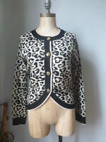 GENUINE Tory Burch Leopard Print Cardigan - Various Sizes - NEW