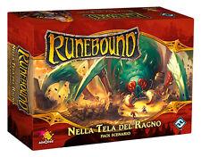 Runebound: Nella Tela del Ragno, Pack Scenario, Nuovo by Asmodée, Italiano