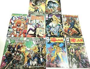 Lot Of 10 Comics Books