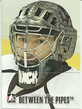 2012-13 ITG Between The Pipes BTP Jonathan Quick 9 Card Puzzle Set & Mask Insert