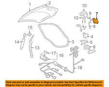VW VOLKSWAGEN OEM Beetle Liftgate Tail Tailgate Trunk-Lock Solenoid 7L6959781