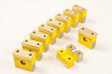 "Hydraulic pipe clamp clip - 10mm ( 3/8"" ) Pk.10 - Hose Brake Fuel Pneumatics etc"