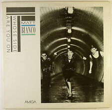 """12"""" LP - Matt Bianco - Whose Side Are You On - B2669 - washed & cleaned"""