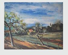 Maurice de Vlaminck Kunstdruck Bild hochwertiger Lichtdruck Landschaft 73x85cm