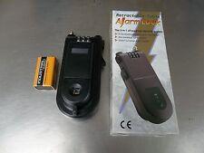 Retractable Cable Lock combination & motion sensor alarm. High Quality. New!