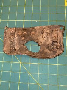 Ww1 Relic Leather Pouch Found Somme
