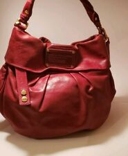 Marc By Marc Jacobs Red Classic Hillier Hobo Handbag
