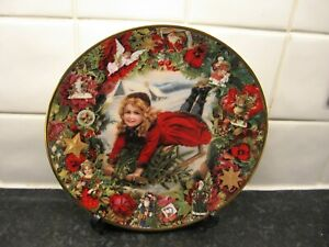 VICTORIAN CHRISTMAS MEMORIES   PLATE   - CHRISTMAS DELIVERY -  HAMILTON