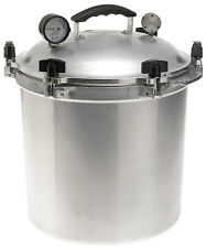 All-American 925 25-Quart Pressure Cooker/Canner Aluminum NEW! Steam Gauge