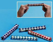 WHOLESALE 144 CHINESE FINGER TRAPS CHILDRENS PARTY BAG TOY FILLER GIFT